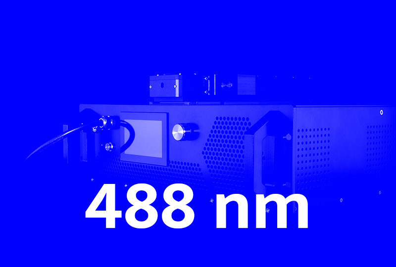 488 nm high power fiber lasers - Visible series