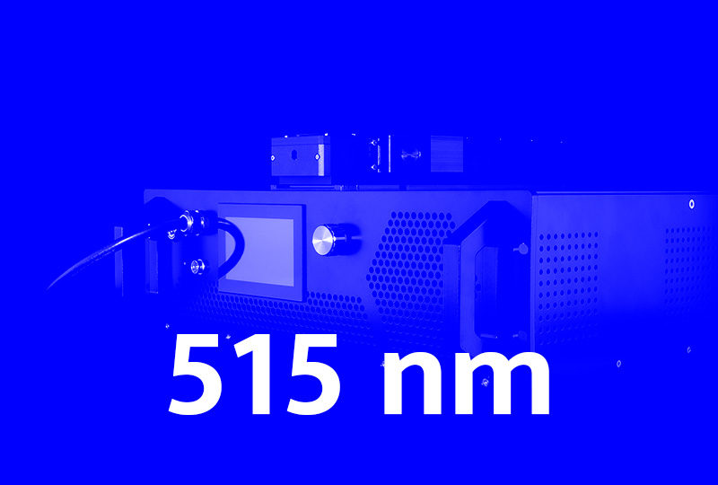515 nm high power fiber lasers - Visible series