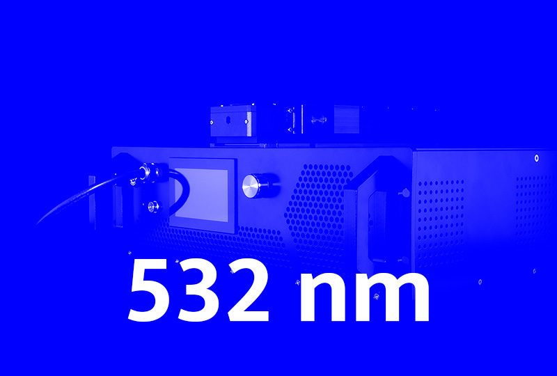 532 nm high power fiber lasers - Visible series