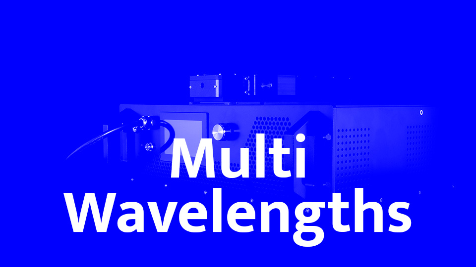Multi-Wavelengths high power fiber laser - Visible series