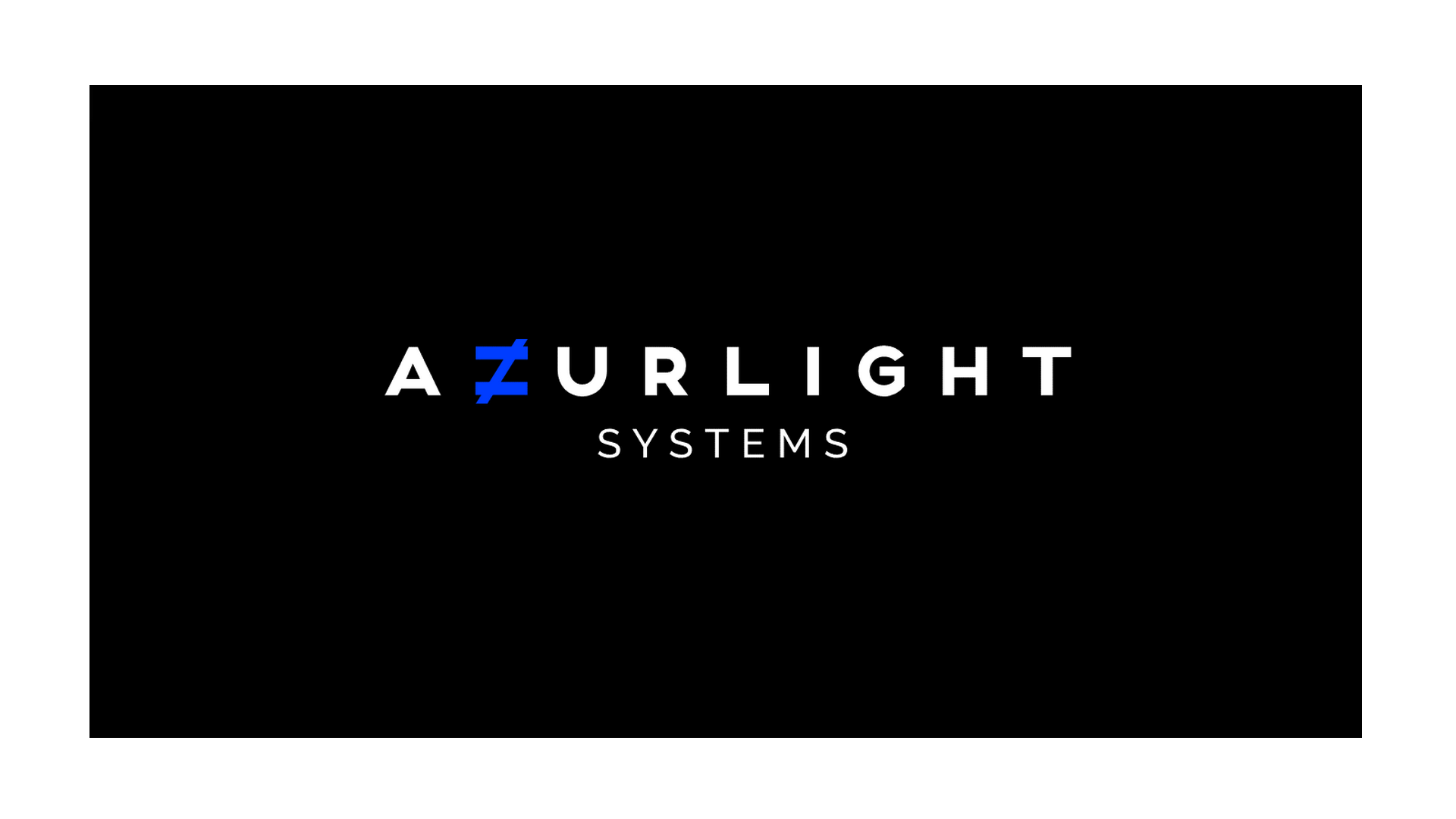Azurlight Systems New Visual Identity Logo Rebranding Graphic Design Graphism