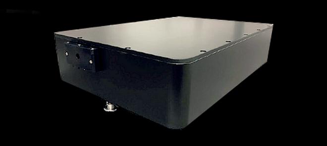 130-W-watercooled-fiber-laser-head-IR-infrared-high-power-optical-output