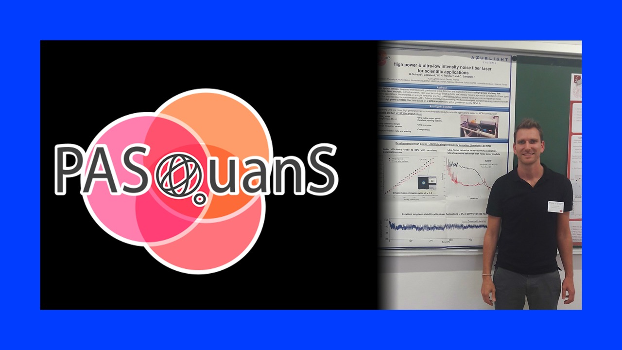 PASQuanS Meeting Germain Guiraud - Quantum Theory from theory to application GGU