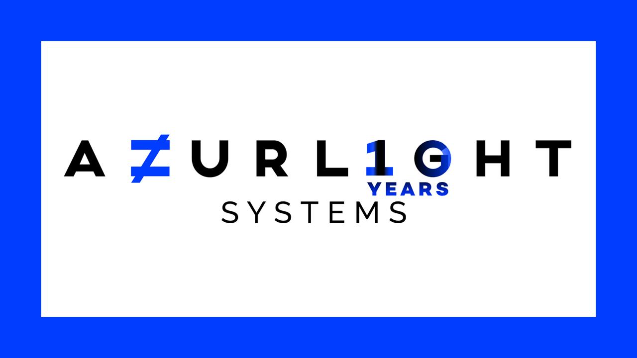 10 years anniversary of Azurlight Systems 2020